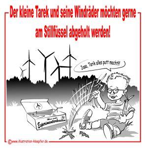 Keine Windkraft im Odenwald, Zerstörer Tarek Al Wazir, Stillfüssel