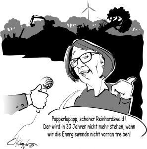 Priska Hinz und der Reinhardswald