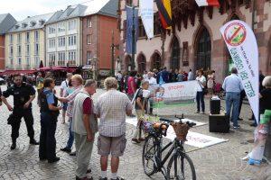 Demos, Kundgebungen, Informationsveranstaltungen, Quittung für eine Menschen- und Natur verachtende Energiepolitik