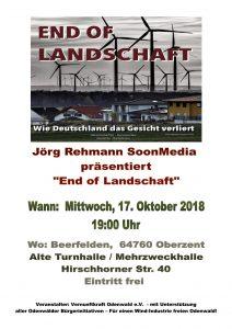 End of Landschaft, wie Deutschland sein Gesicht verliert