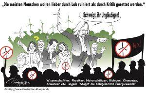 grüne Weltrettungs-Agenda und Zerstörung der Natur