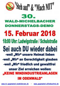Donnerstags Demo