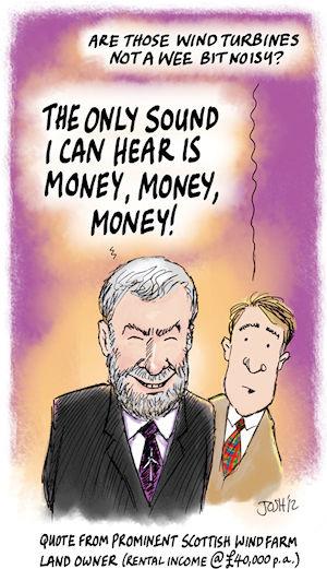 Windkraft - the sound of Money