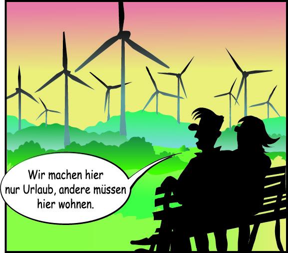 Urlaub im Windpark